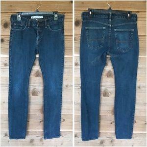 b by bullheads Dark Denim Skinnest Jeans Sz 30x32